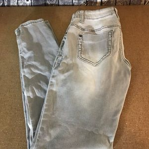 Mossimo Gray Denim Legging Size 3